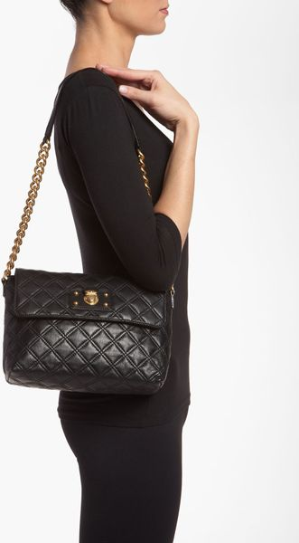 Marc Jacobs Quilted Leather Shoulder Bag 120