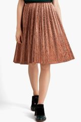 Marni Knife Pleated Skirt - Lyst