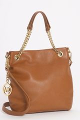 Michael by Michael Kors Jet Set Medium Chain Shoulder Tote - Lyst