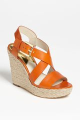 Michael by Michael Kors Giovanna Wedge Sandal - Lyst