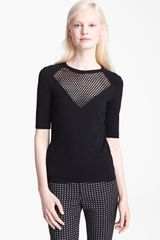 Moschino Cheap & Chic Wool Knit Top - Lyst
