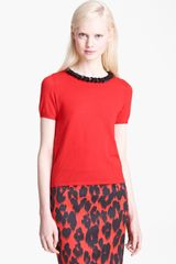Moschino Cheap & Chic Wool Top - Lyst