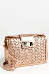 Rebecca Minkoff Box Large Embossed Crossbody Bag - Lyst