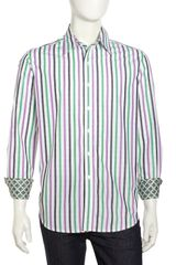 Robert Graham Lloyd Striped Dress Shirt - Lyst