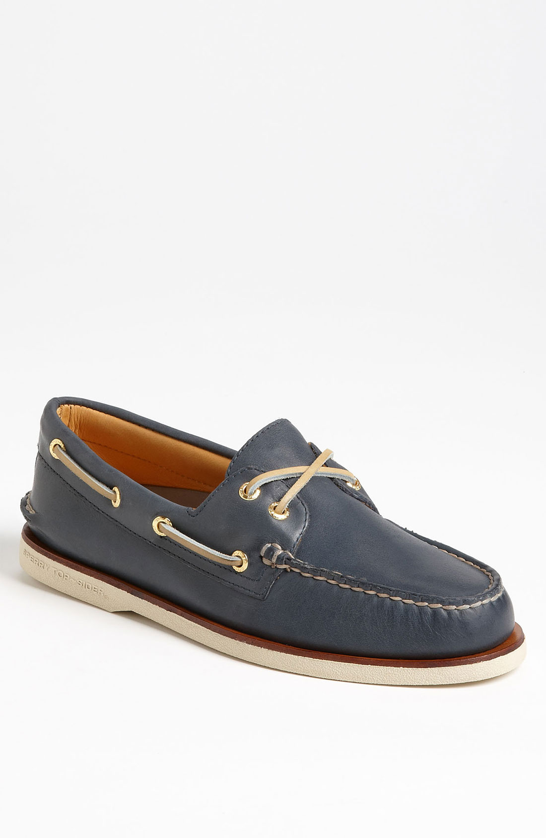 Sperry Top sider Gold Cup Authentic Original Boat Shoe In Blue For Men navy Lyst