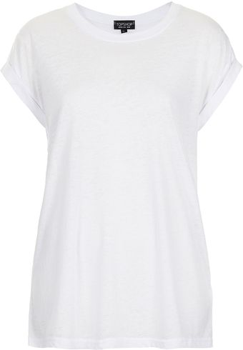 Topshop Burnout T-shirt - Lyst