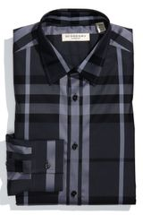 Burberry Modern Fit Dress Shirt - Lyst