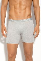 Calvin Klein Ck One Stretch Cotton Boxer Briefs - Lyst