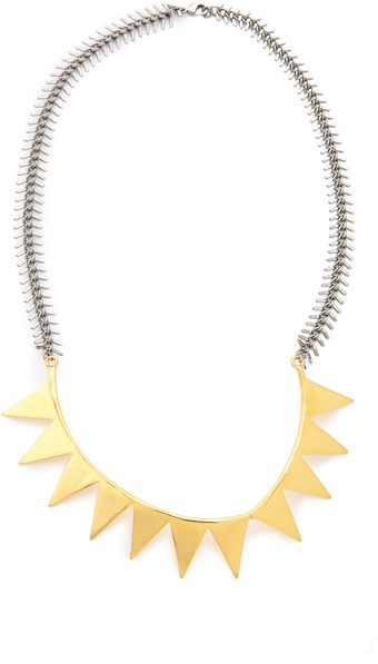 Eddie Borgo Smile Necklace - Lyst