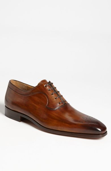Magnanni Astil Oxford in Brown for Men (mid brown) - Lyst