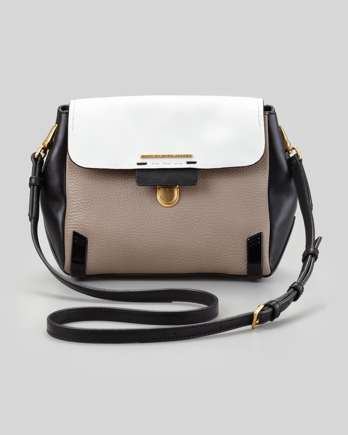 Lyst Marc By Marc Jacobs Sheltered Island Leather Cross