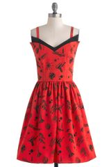 ModCloth Jetting Ready Dress - Lyst