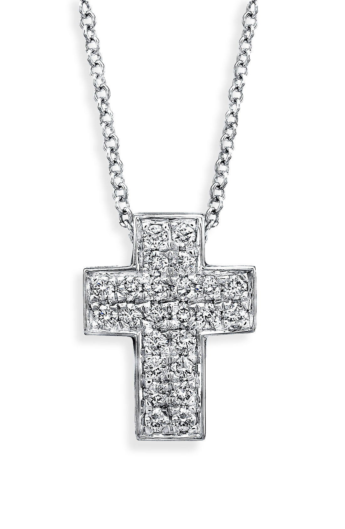 Bony levy Diamond Cross Necklace (nordstrom Exclusive) in ...