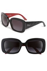 Dior Retro Inspired Square Sunglasses - Lyst