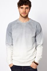 Esprit Sweatshirt with Dip Dye - Lyst