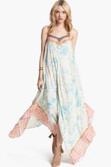 Free People Wild Devine Maxi Dress - Lyst