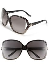 Gucci Heart Logo Sunglasses - Lyst