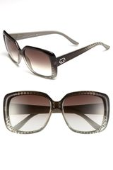 Gucci 56mm Sunglasses - Lyst
