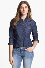 Kut From The Kloth Denim Shirt - Lyst