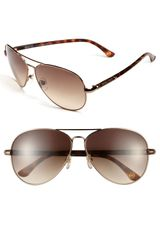 Michael by Michael Kors 62mm Metal Aviator Sunglasses - Lyst