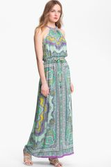 Nanette Lepore Beach Lover Silk Maxi Dress - Lyst