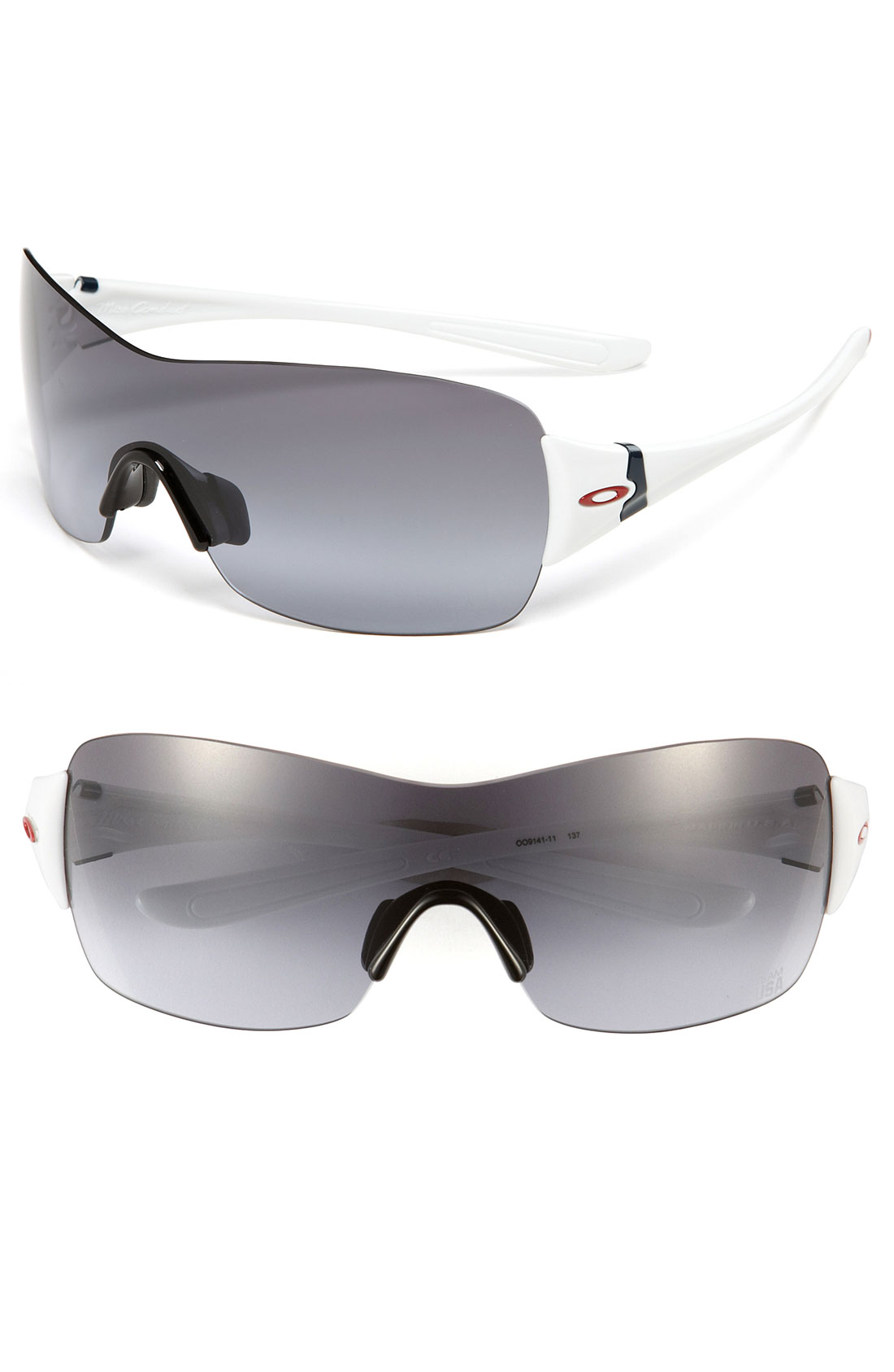 Oakley Miss Conduct Team Usa 137mm Rimless Shield
