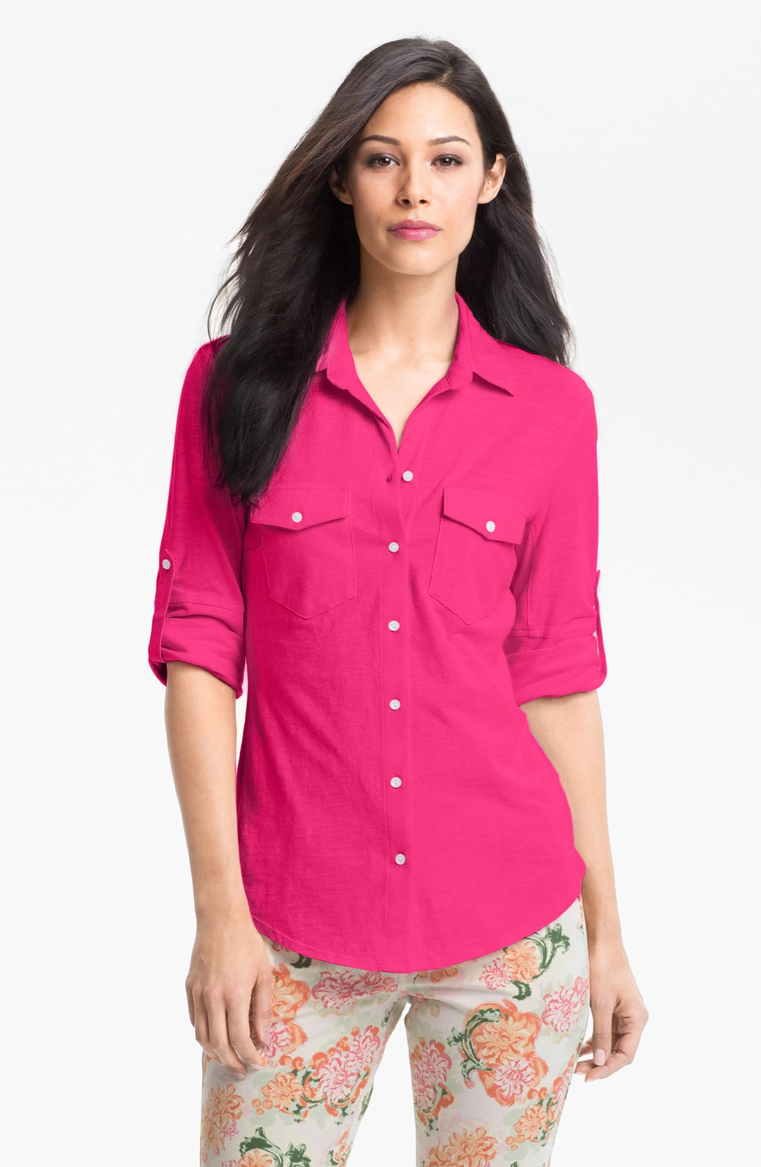 Shocking Pink Shirt