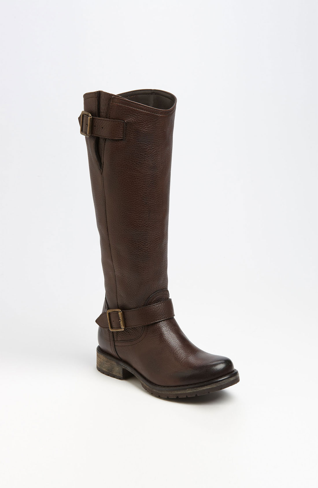 steve madden fairmont boot in brown brown leather lyst. Black Bedroom Furniture Sets. Home Design Ideas