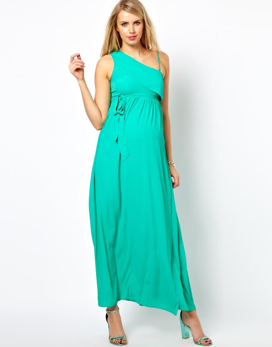 One shoulder maxi dress asos maternity best dresses collection one shoulder maxi dress asos maternity ombrellifo Images