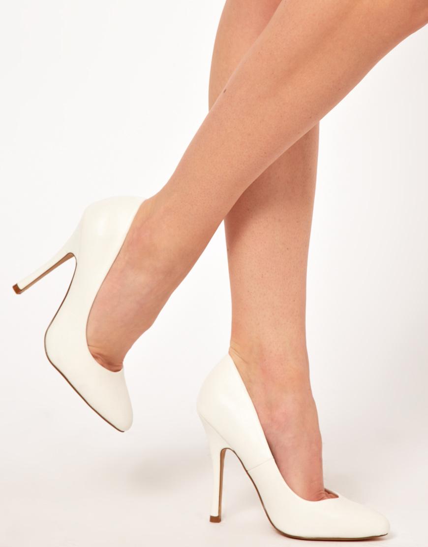 High White Heels