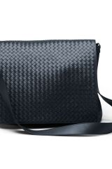 Bottega Veneta Intrecciato Vn Cross Body Messenger - Lyst