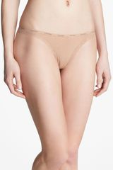 Calvin Klein Bottoms Up Thong 3 For 30 - Lyst