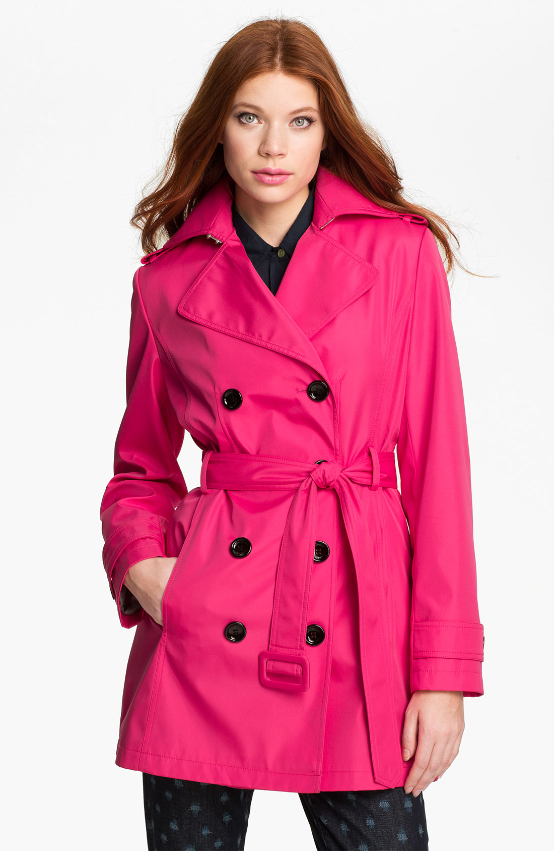 Calvin Klein Trench Coat With Hood Photo Album - Watch Out ...