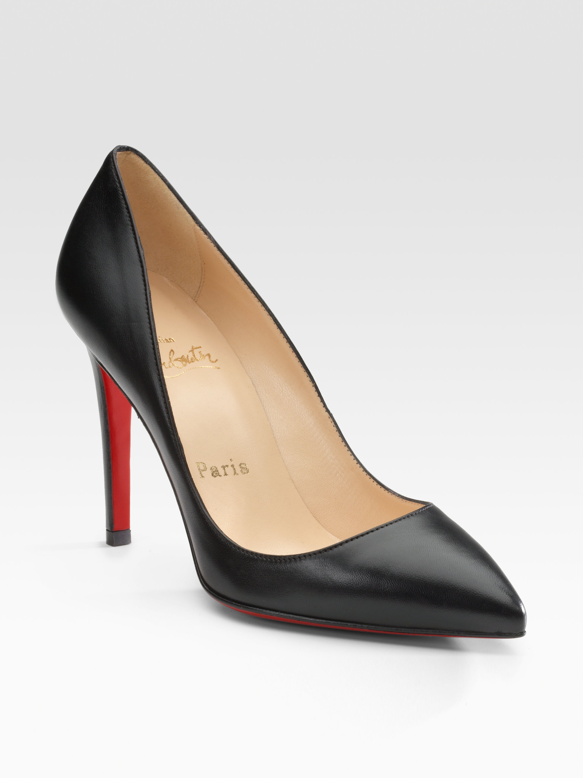 christian louboutin pigalle 100 black uk