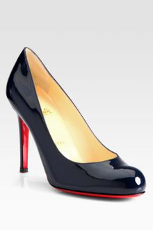 Christian Louboutin Simple 100 Patent Pumps - Lyst