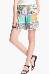 Clover Canyon Roadside Sequin Shorts - Lyst