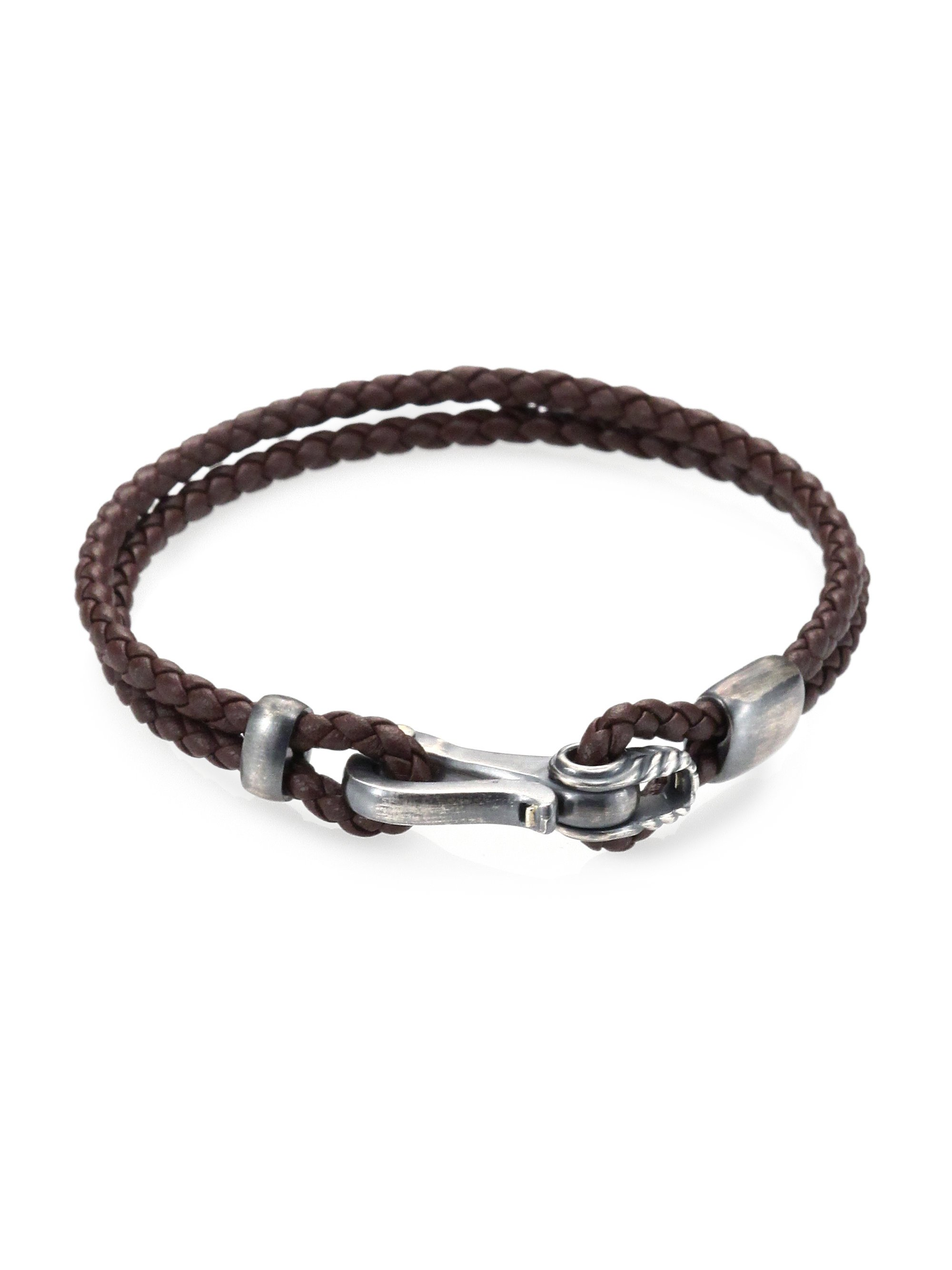 Men 39 s david yurman bracelets lyst for David yurman like bracelets
