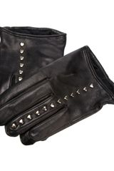 DSquared2 Heart Stud Gloves - Lyst
