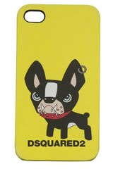 DSquared2 Bulldog Iphone Case - Lyst