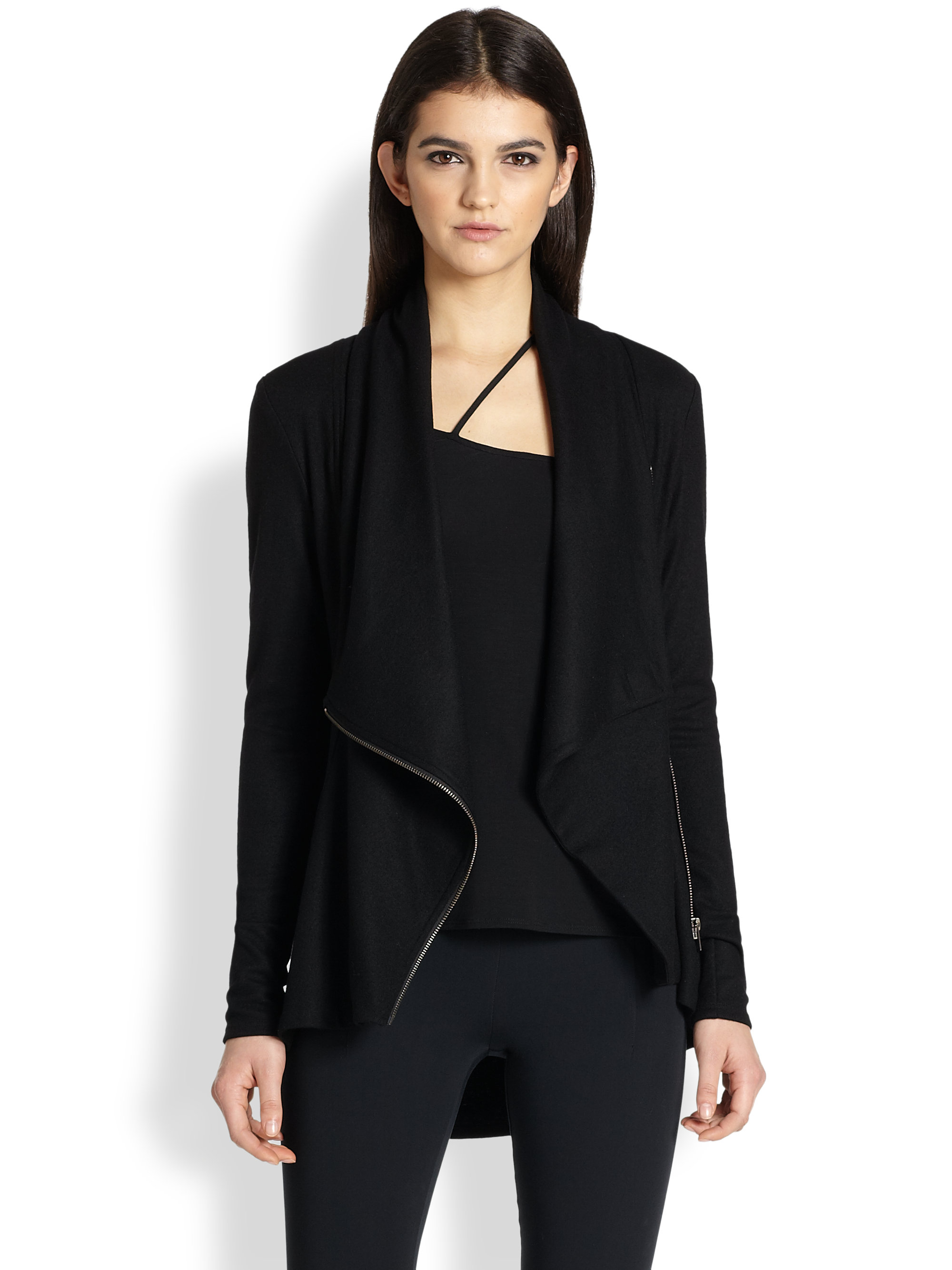 shop nordstrom drapes vegan image faux jacket of blanknyc leather product rack draped