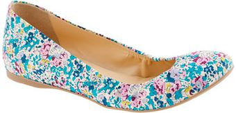 J.Crew Collection Cece Liberty Floral Ballet Flats - Lyst