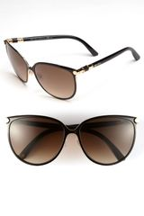 Jimmy Choo 60mm Cats Eye Sunglasses - Lyst
