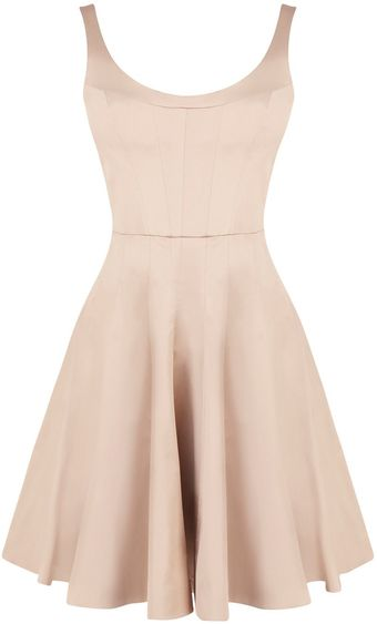 Karen Millen Fabulous Tailored Prom Dress - Lyst