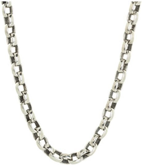 King baby studio new oval link chain 24 inch necklace in for King baby jewelry sale