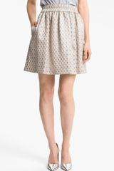Marc By Marc Jacobs Romy Jacquard Skirt - Lyst