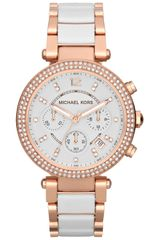 Michael Kors Womens Parker Chronograph Watch - Lyst