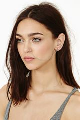 Nasty Gal Chained Nose Ring - Lyst