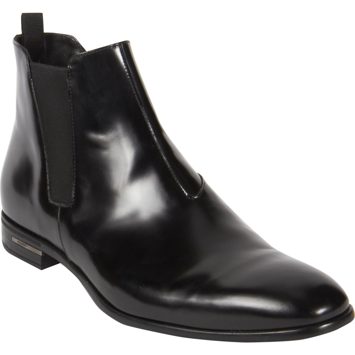 prada chelsea boot in black for men lyst. Black Bedroom Furniture Sets. Home Design Ideas