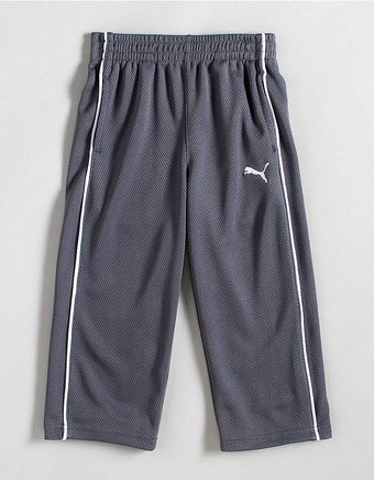 Puma  Mesh Track Pants with Piping - Lyst