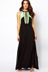 River Island Micha Maxi Beach Dress - Lyst